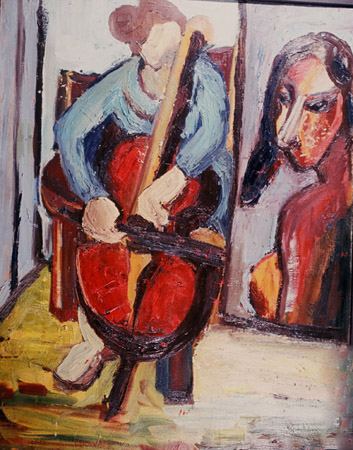 Cellist and Girl