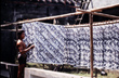 Drying Batik Kain Textiles